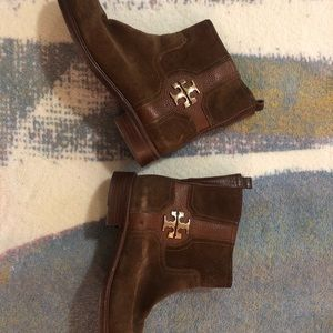 Tory Burch Alaina Leather Booties